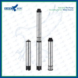 4 AC 2HP CI Solar Submersible Pump Set