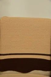 Beige Polyester Sofa Cover