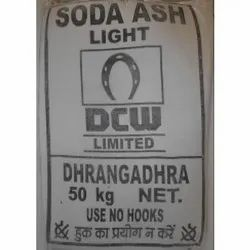 DCW White Soda Ash Light Powder, For Detergent Powder, Glass, 50 Kg Bags