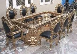 Dimensions: 8x4ft More Then 100 Kg Carved Dining Table