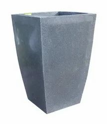 Grey Luxer Tall Flower Pot