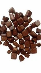 Brown Tumbled Red Goldstone Pebble, For Decoration, Dimensions: 18- 30 Mm