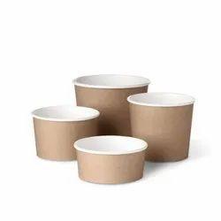 Brown Paper Detpak Harvest Bowls 12oz/16oz/24oz/32/oz, For Restaurant