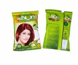 Al noni Powder 18g Natural Brown Henna Hair Color, Packet