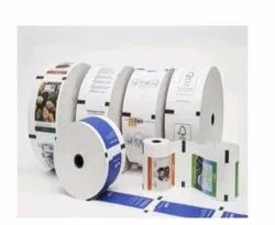 White Printed Thermal Paper Roll, GSM: 55 GSM