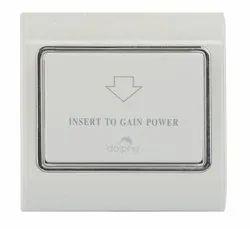 Dolphy Dhdl0005 - W Energy Saver Key Switch, For Hotel,Apartment
