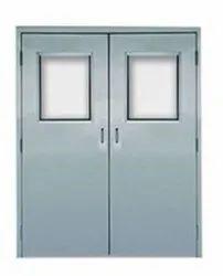 Metal HMPS Door, For Office