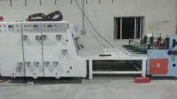 Auto Feeder Attached SIngle Colour Printer and Die Cutter Machine