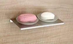 SS Acrylic Soap Dish