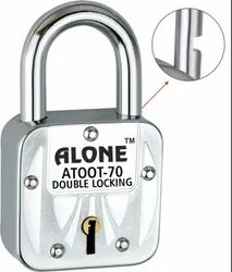 With Key Normal Alone Atoot Double Locking, Packaging Size: <10 Piece, Chrome