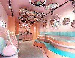 Restaurant Interior Designing Services, 2-3 Month