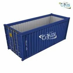 Crystal Open Top Container