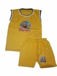 Morya Traders Lycra Cotton Kids Designer T Shirts And Pant Set