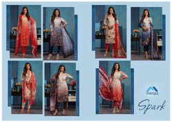 Rayon Party Wear Mangia Ladies Designer Suit