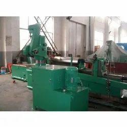 Rolls Grooving & Polishing Machine