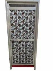 Aluminium Powder Coated Door, Single, Thickness: 30 Mm