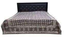 Natural Dye Kahish Kantha Bed Cover