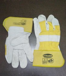 Strong Crome Leather Hand Gloves