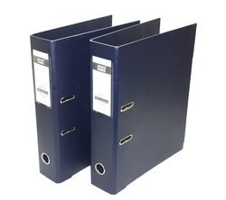 Hard Binding Clip Blue Office Box File