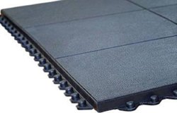 Gym Floor Mat Ultra Heavy Duty - Plain  (Interlocking & Portable - No Pasting) With Warranty)