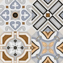Rudra Ceramic Glazed Porcelain Tiles, Size: 600 x 600 mm
