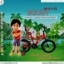 Scout Kids Series 20x1.75 (green) / Children Bicycle / Baby Bicycle.