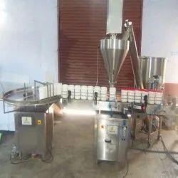 Spice Powder Bottle Filling Machine