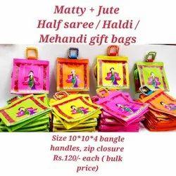 Half Saree Gift Bags