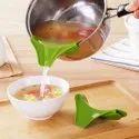 Silicon Spout For Pan Bowl Bottle Oil Soup Pouring Support Funnel - Silicon Spout For Pan Bowl