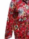 Red Screen Print Cotton Night suit