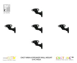 CNCT0408X5 - Speaker Wall Mount Bracket (5 Piece Set), For Home