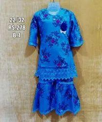 Kids Rayon Plazo Suit