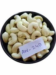 White W240 Cashew Nut, Packaging Type: Tin, Packaging Size: 10 kg