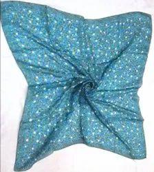 Silk Printed Square Scarves