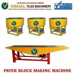 Interlocking Paving Block Making Machine