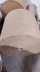 Brown Paper Roll, For Corrugated Box, Packaging, GSM: 100-350