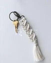 Fancy Macrame Key Ring
