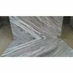 Vyas Marbles Rough Toronto Marble Slab, Thickness: 14-15 Mm
