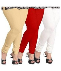 4 Way Strech 15 colors available Eon Pink Cotton Lycra Leggings