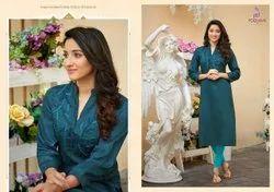 Poonam Designer Cotton Kurti, Wash Care: Handwash