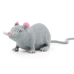 Sticky Plastic Rat Toy