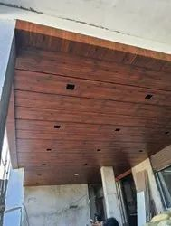 Brown Coated ACP False Ceiling, Thickness: 6.5 mm