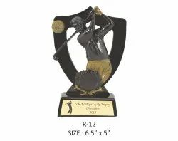 Golf Resin Sports Trophy