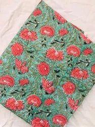 Cotton Printed Sanganeri Prints Fabric
