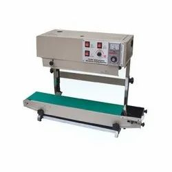 Continuous Band Sealing Machine, Production Capacity: 10 Meter Per Minute