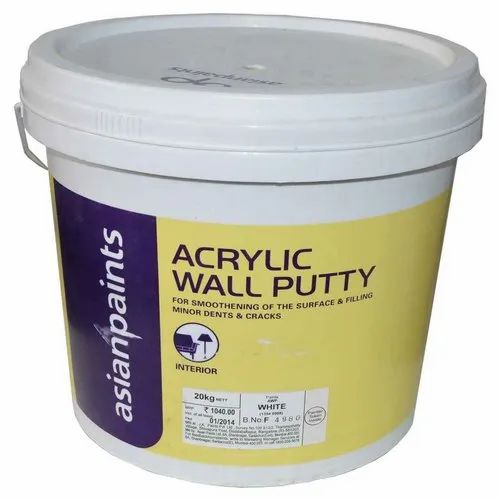 Asian Paints Acrylic Wall Putty For Construction Rs 899 Bucket Id 23104622197