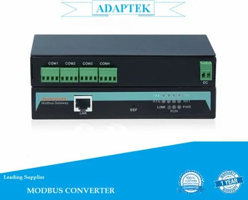 4-Port RS-485/422 To Ethernet Modbus Converter