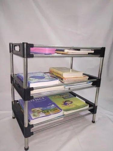 Books And Stationery Storage Rack