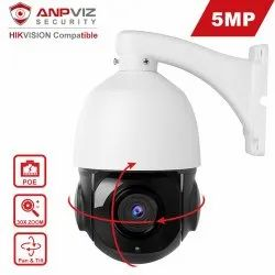 1.3 MP Hikvision HD PTZ Dome Camera, Max. Camera Resolution: 1280 x 720, Camera Range: 10 meter