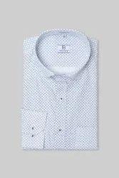 Oriental Blue Mens Formal Shirt